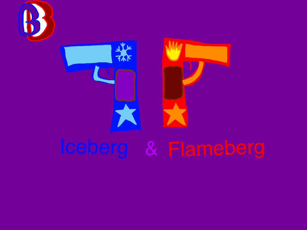 Iceberg and Flameberg by BenBandicoot