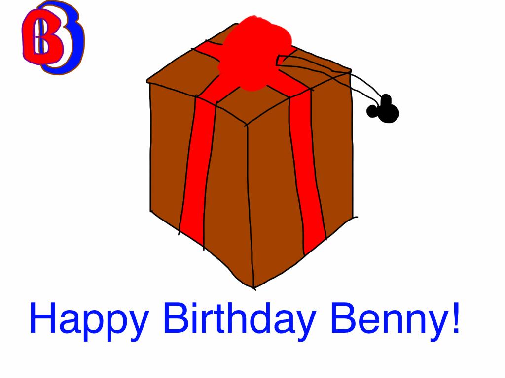 Happy Birthday Benny! by BenBandicoot