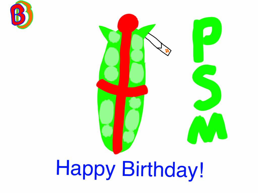Happy Birthday ProffessorSodaMan! by BenBandicoot