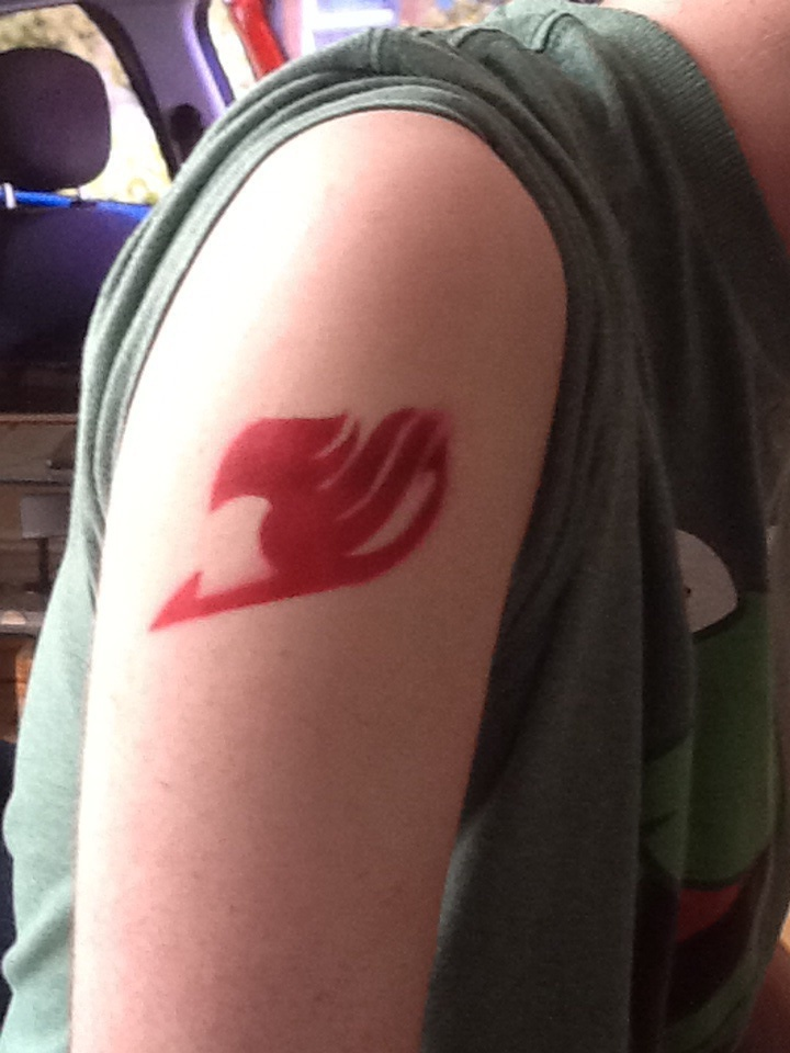 My Fairy Tail logo tattoo by BenBandicoot