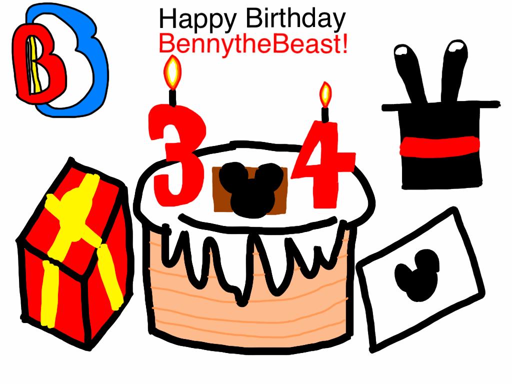 Benny Birthday Gift 2015 by BenBandicoot