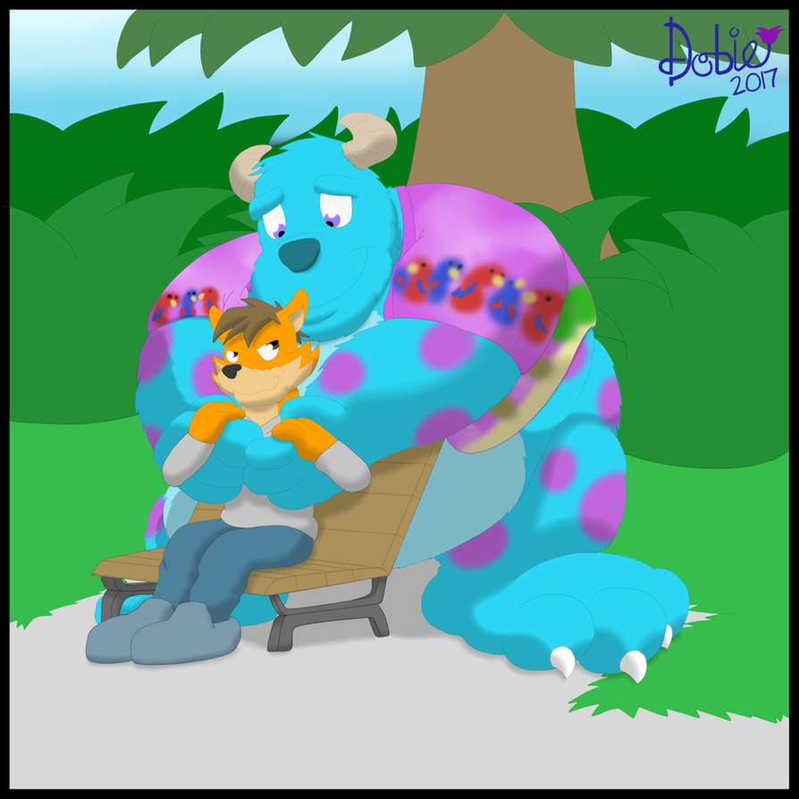 Monster Hugs by Dobie-Takahama by BenBandicoot