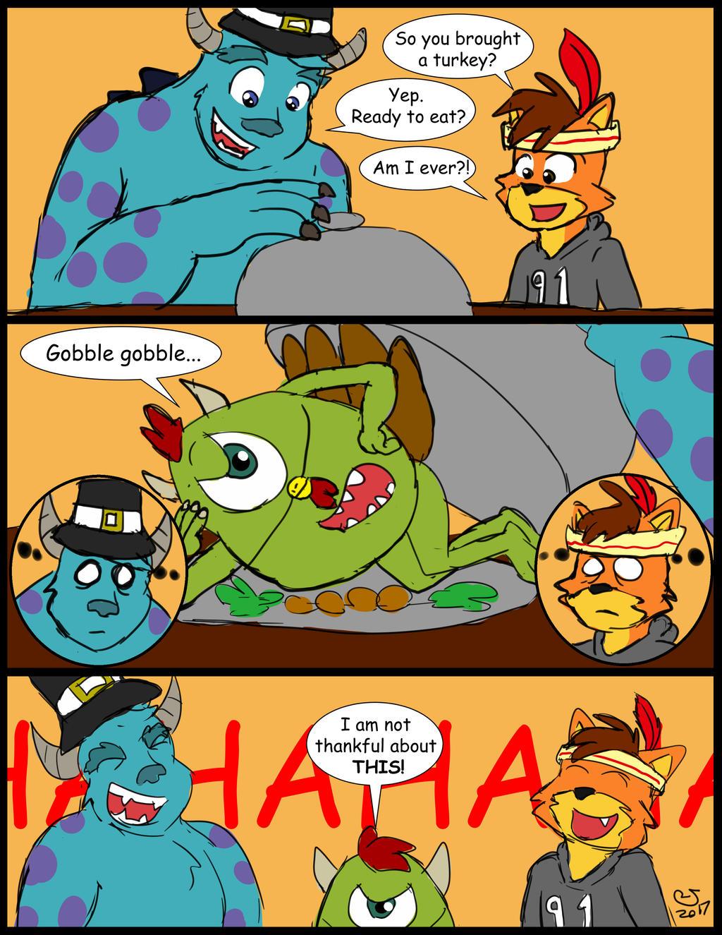 Funny First Thanksgiving by CaseyLJones by BenBandicoot