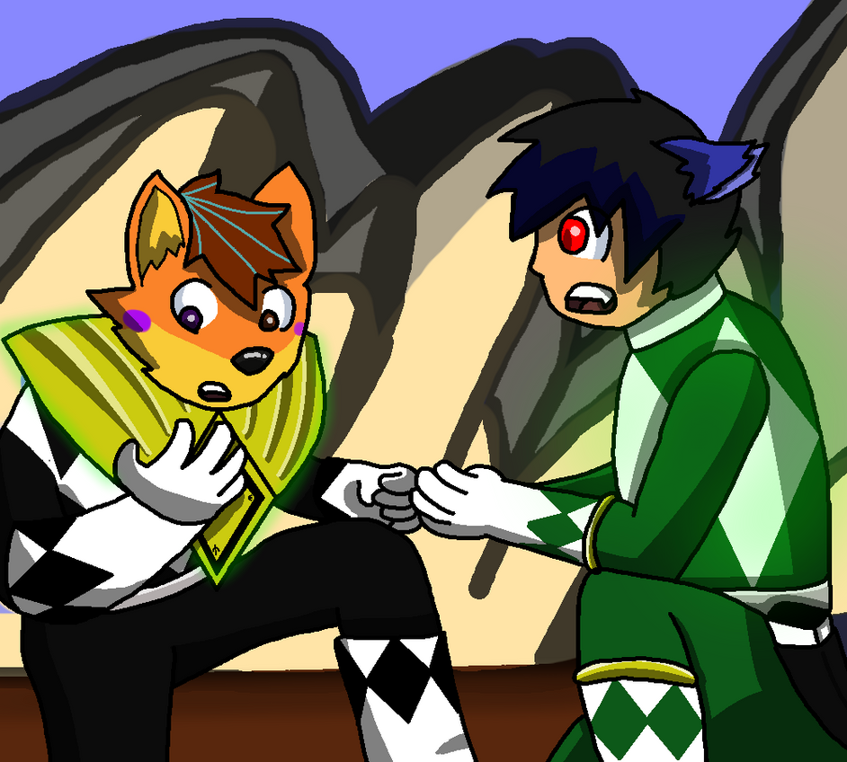 Furry Rangers: Shield Transfer by TheAnnonymousKat by BenBandicoot