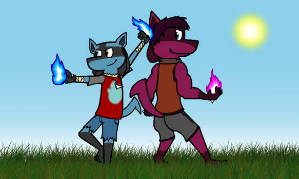 Brothers of Aura by Duskario64