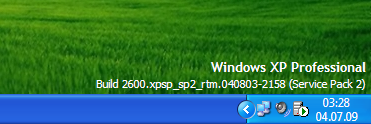Win7 Systray Time Date on XP by nemesiscult