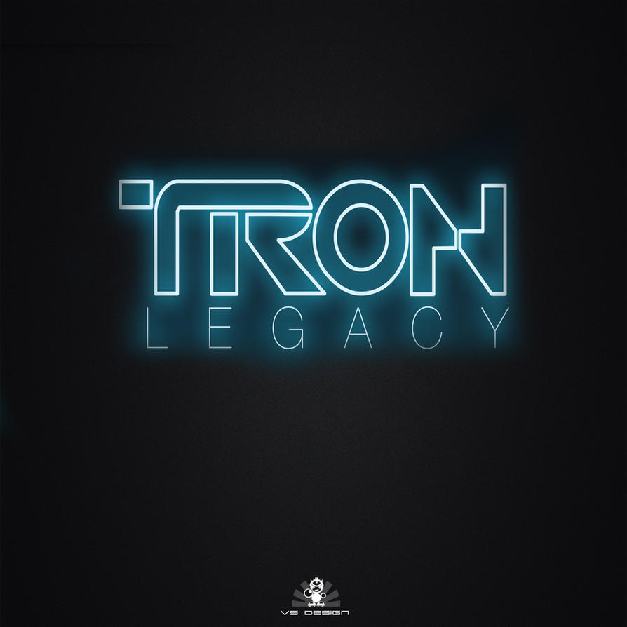 Simple Tron Legacy Wallpaper by VS-Design