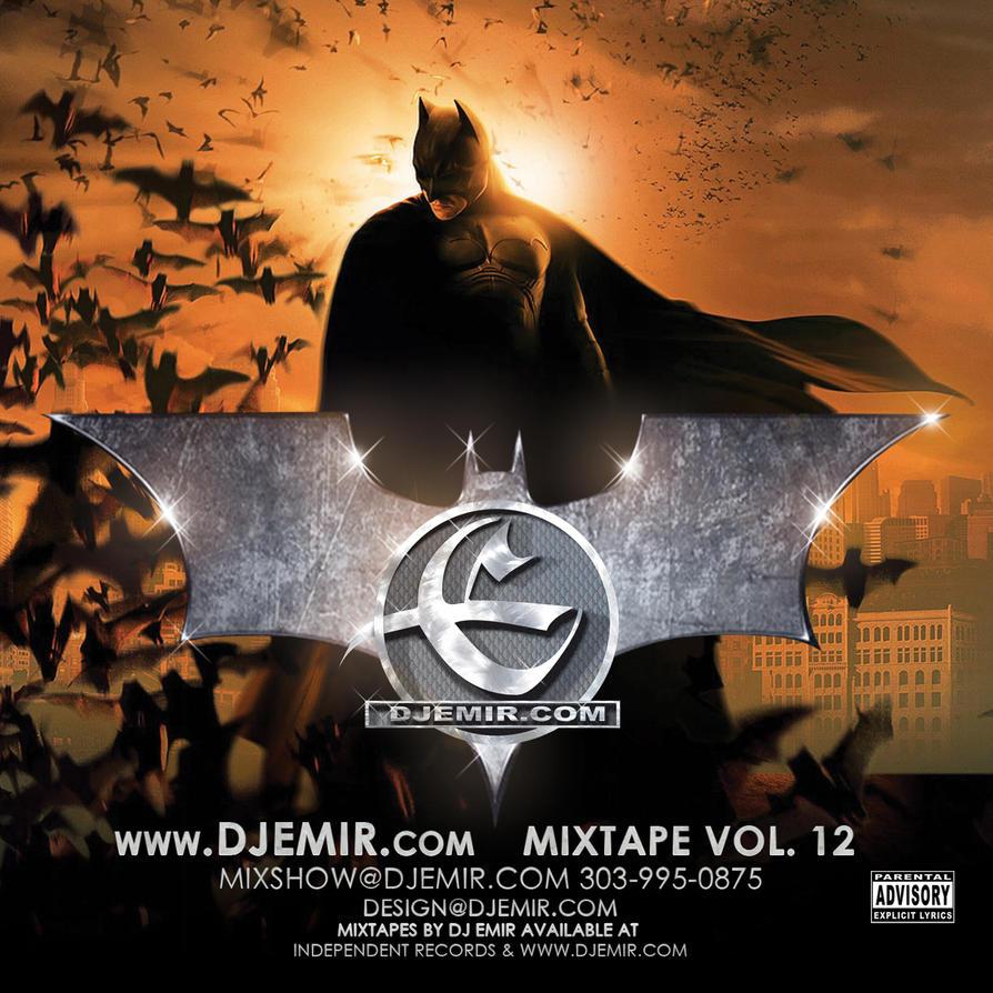 Dj emir batman mixtape cover design by djemir on deviantart for Mixtape cd cover
