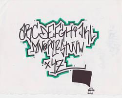 Graffiti Alphabet by atomicmufin