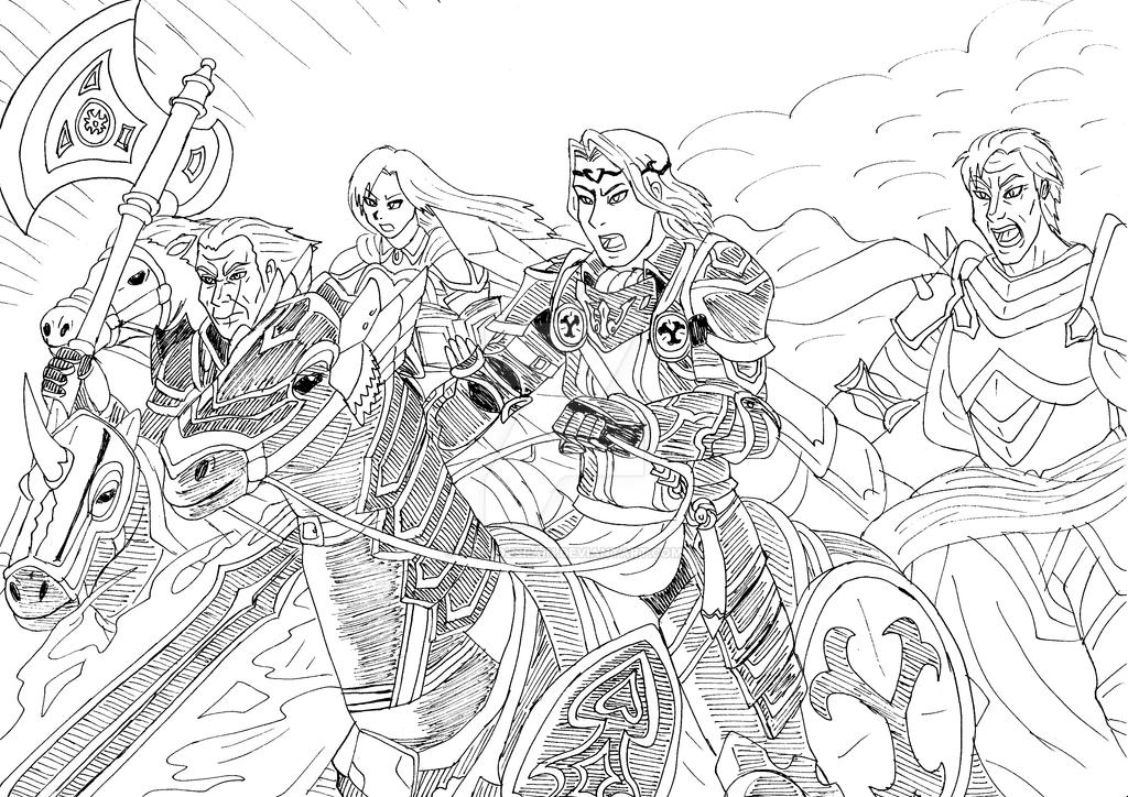 ⚔ SPIRIT BRINGERS:  EL GRAN ASALTO A BEAGALLTACH  ⚔  - Página 6 Fire_emblem_heroes__my_horse_emblem_team_by_ominousrain-dbaa511
