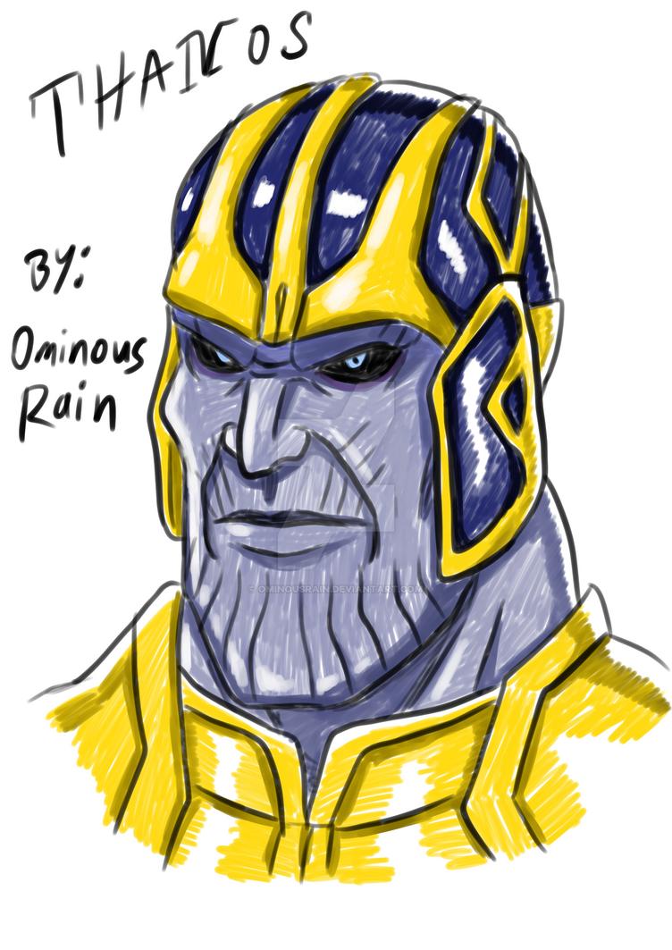 Thanos by OminousRain