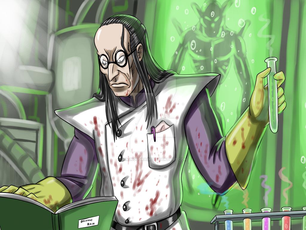 Evil Scientist Izuka by OminousRain