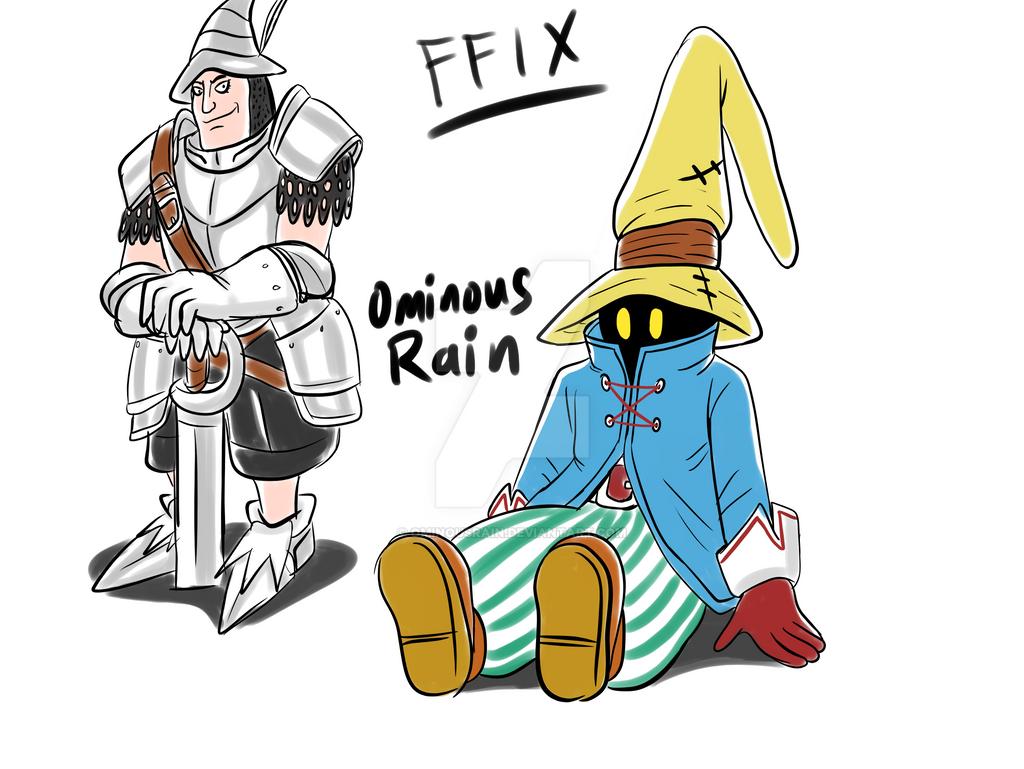 Final Fantasy IX - Vivi and Steiner by OminousRain