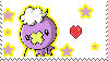 i love drifloon stamp by Brixyfire