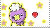 i love drifloon stamp