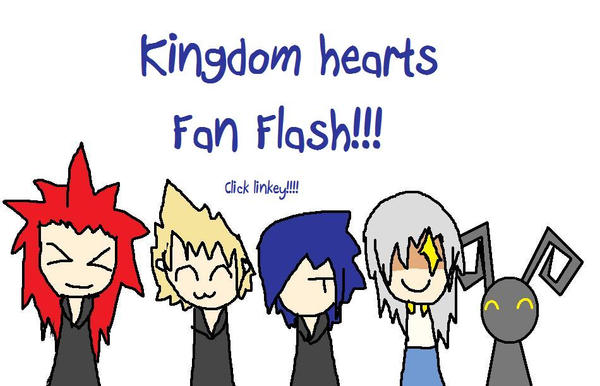 Kingdom hearts Fan Flash by Brixyfire