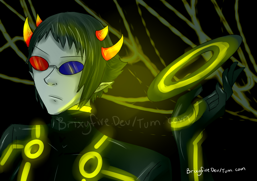 Picture Captions - Page 2 Tron_sollux_by_brixyfire-d4r01nr