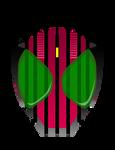 Kamen Rider Decade Helm