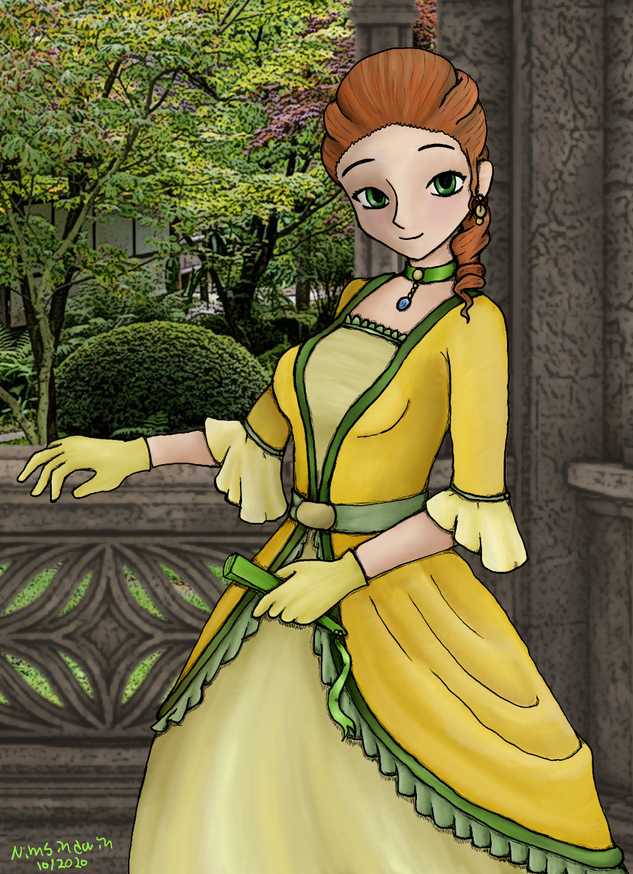 A portrait of Liliana