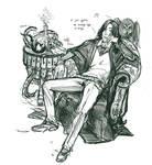 Scetch Severus Snape