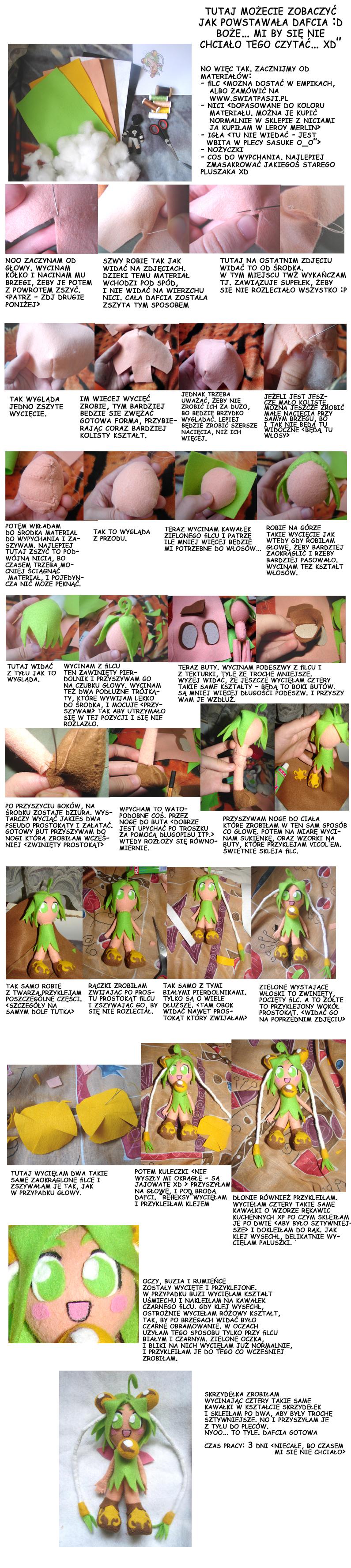 daffodil plushie tutorial by meago