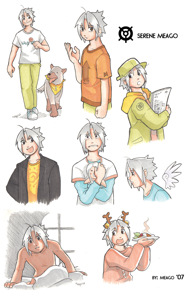 Meago color sketches by meago