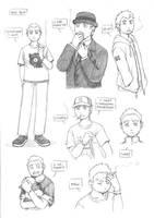 Bob sketches by meago