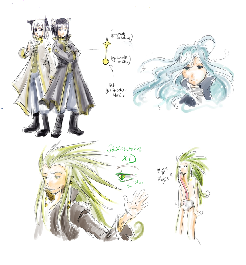 some FBTW charas by meago