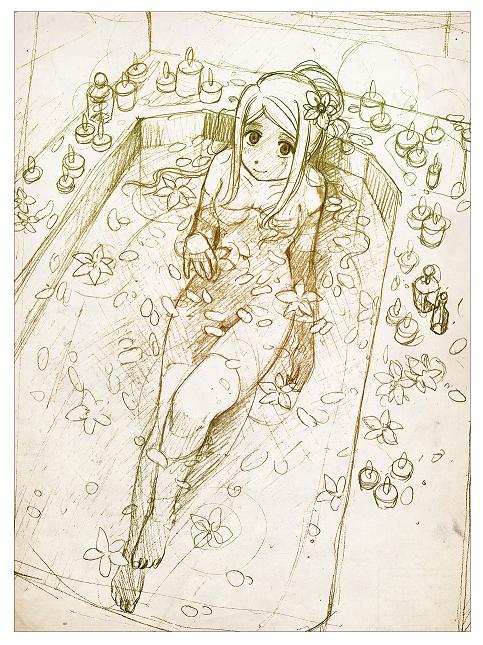 romantic bath by meago