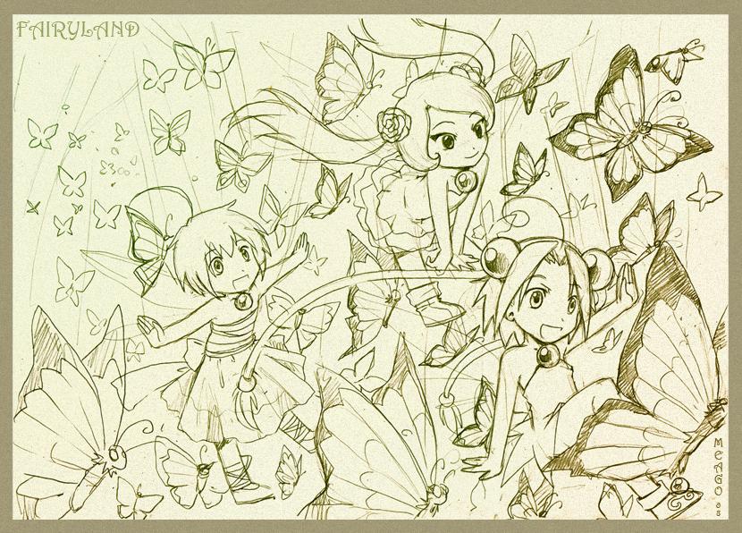 Fairyland - sketch by meago