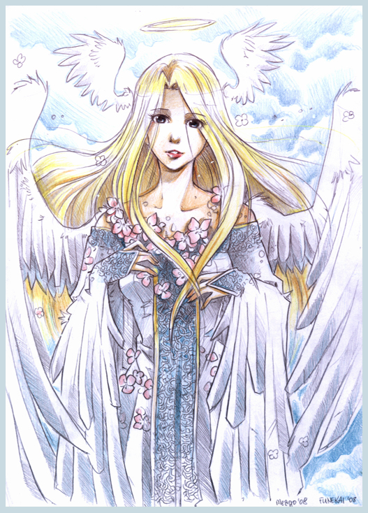 Angel by meago