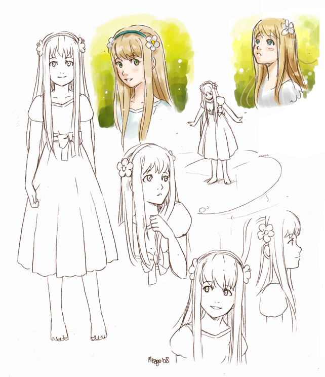 Thumbelina concept sketches by meago on DeviantArt