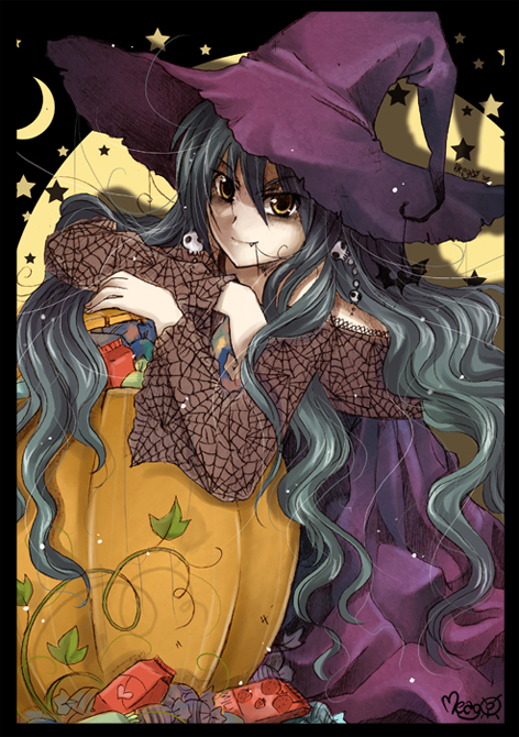 trick or treat - color by meago