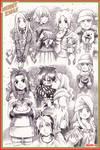 Xmas sketches