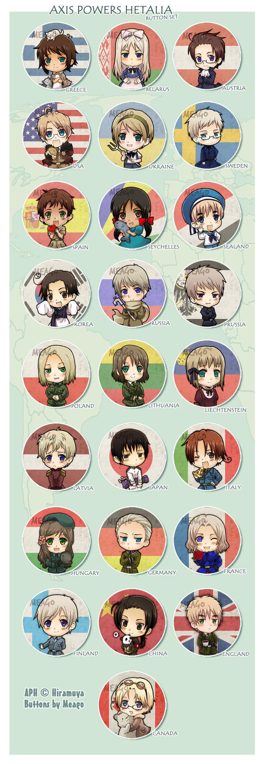APH mega button set by meago