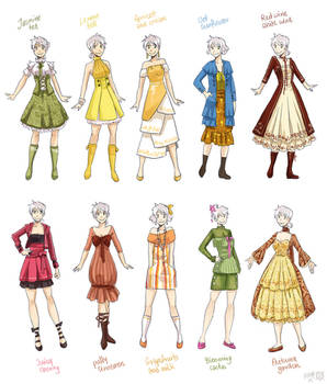 Various female clothes 2