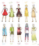 Various female clothes 3
