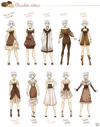 Various female clothes 6 by meago