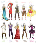 Various female clothes 8