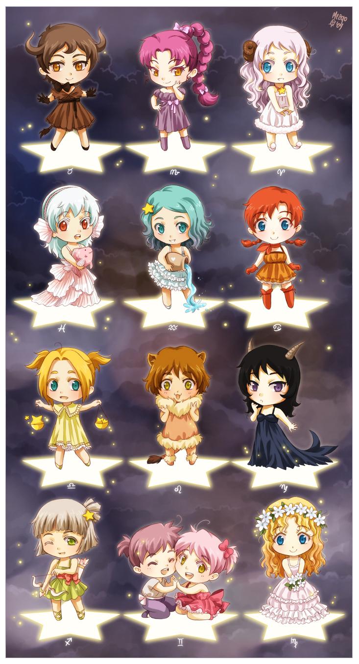 Anime Zodiac Cancer Girl - Anime Wallpapers
