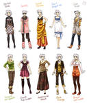 Various female clothes 9