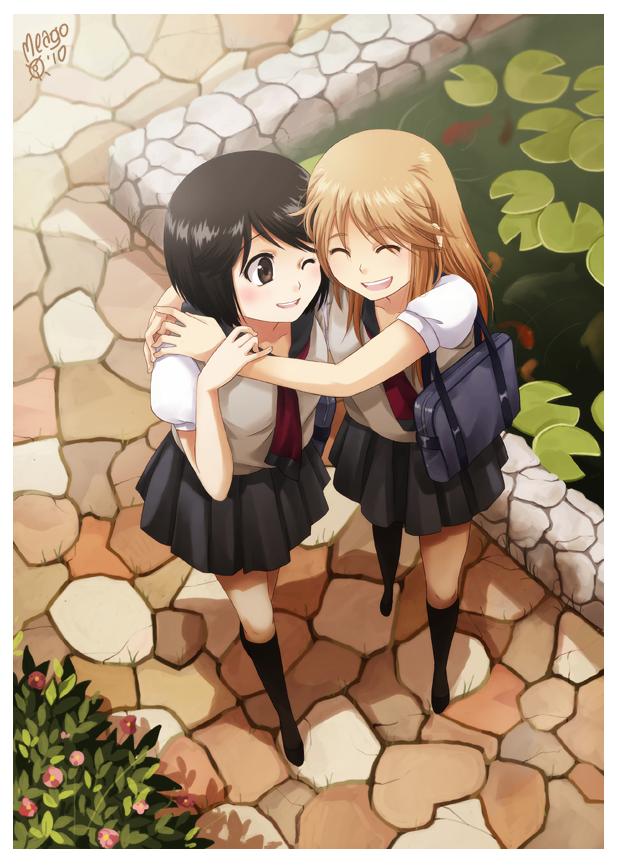 Girlfriends by meago