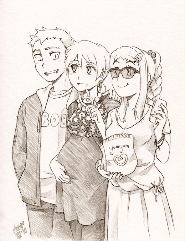 Reid family by meago
