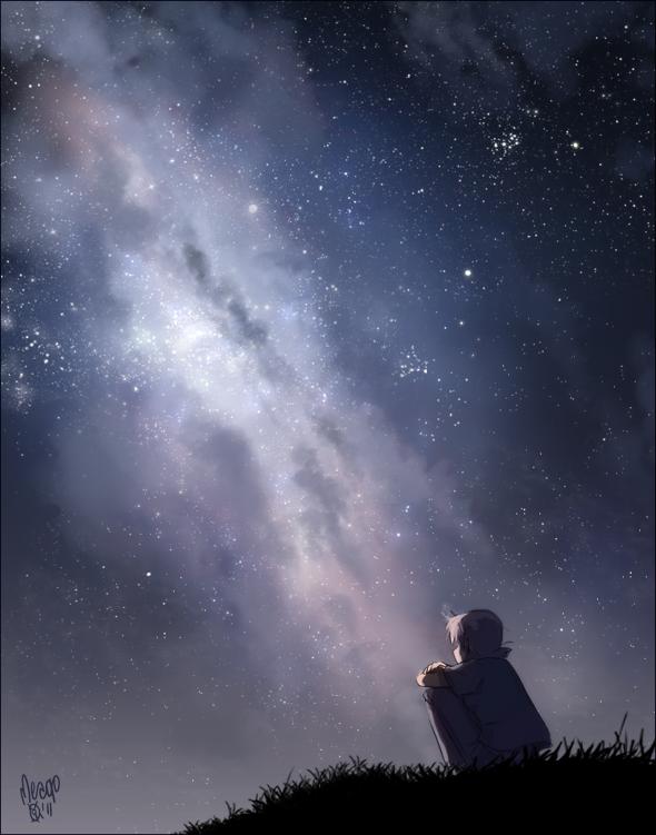 Milky way by meago