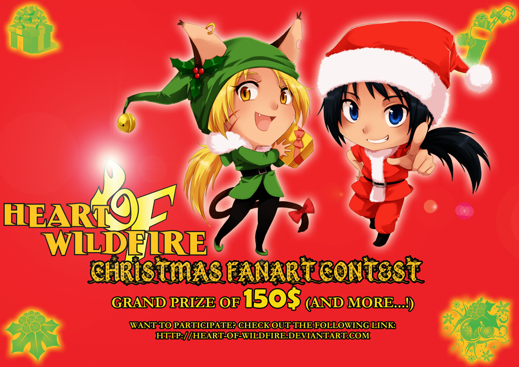 How christmas fanart contest by meago on deviantart