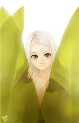 Green eyes by meago