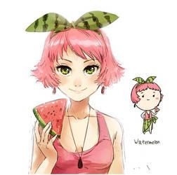 Watermelon by meago