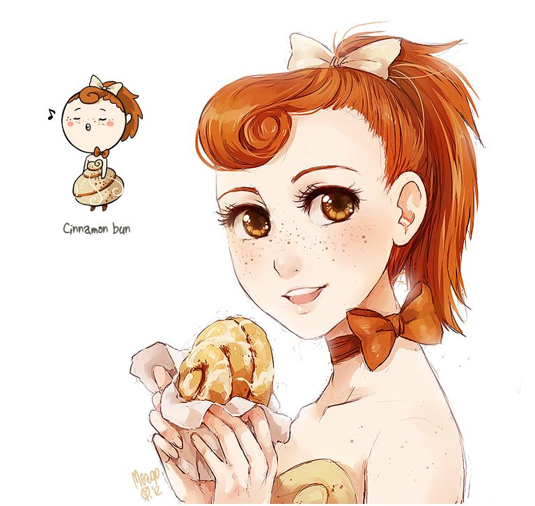 cinnamon bun by meago