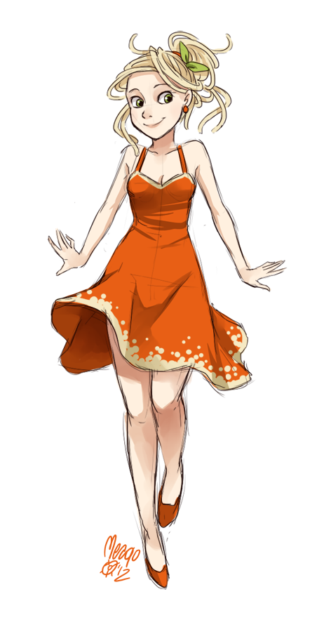 spaghetti fullbody by meago