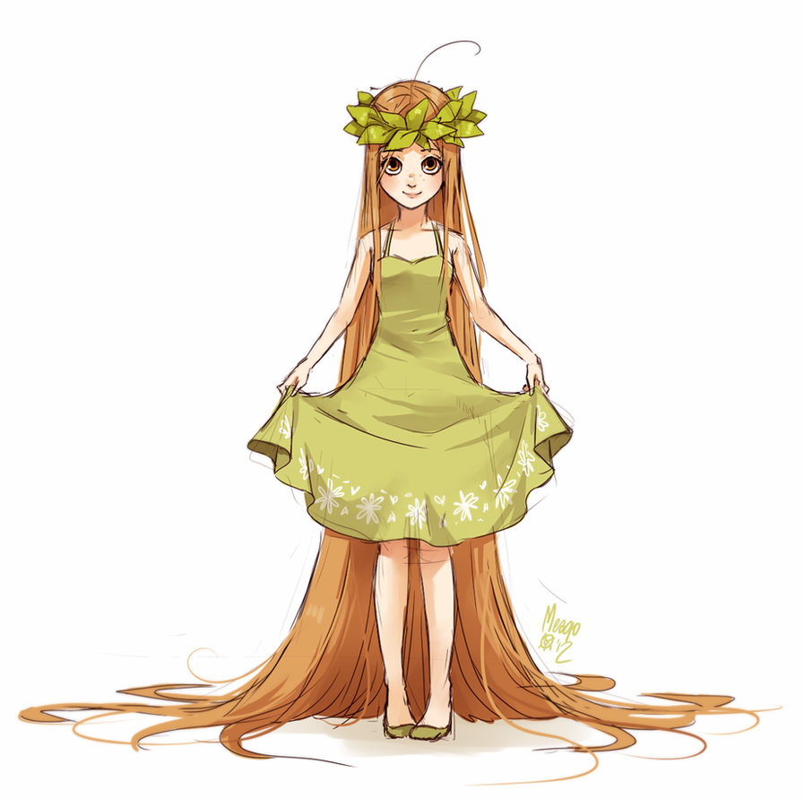 green tea fullbody by meago
